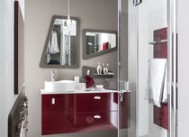 Contemporary bathroom / laminate