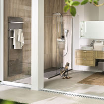 Contemporary bathroom / bleached oak / Corian®