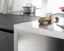 Stainless steel countertop / kitchen