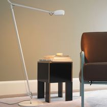 Floor-standing lamp / contemporary / extruded aluminum / swing-arm