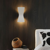 Contemporary wall light / cast aluminum / LED / IP20