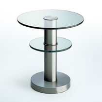 Contemporary coffee table / metal / round / by Gio Ponti