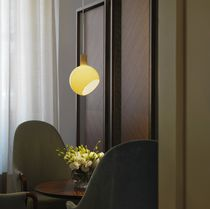 Pendant lamp / contemporary / glass / LED