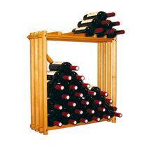 Wall-mounted wine rack / commercial