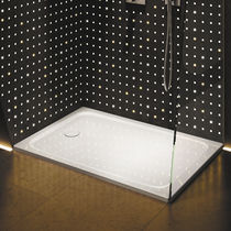 Rectangular Shower Base / Steel / Extra Flat / Flush