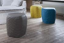 Contemporary pouf / fabric / modular / waterproof