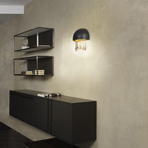 Contemporary wall light / methacrylate / LED / white