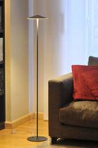 Floor-standing lamp / contemporary / metal / polycarbonate