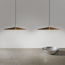 Pendant lamp / contemporary / metal / polycarbonate