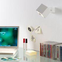 Wall-mounted spotlight / indoor / LED / halogen