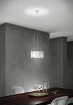 Pendant lamp / contemporary / ABS / LED