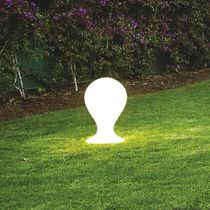 Floor lamp / contemporary / polyethylene / outdoor