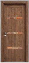 Swing door / wooden / laminated