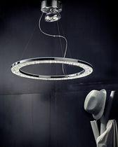 Pendant lamp / contemporary / metal