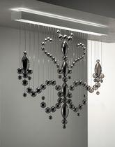 Pendant lamp / original design / crystal