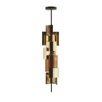 Pendant lamp / contemporary / brass / bronze