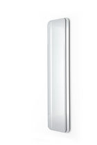 Wall-mounted mirror / contemporary / rectangular