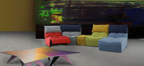 Modular sofa / contemporary / fabric / 4-seater