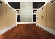 Engineered wood flooring / glued / acacia / oiled