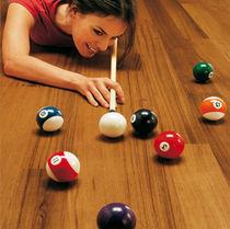Engineered wood flooring / glued / teak / oiled