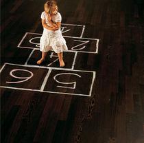 Engineered wood flooring / glued / wenge / oiled