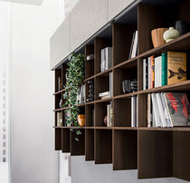 Modular bookcase / contemporary / wooden