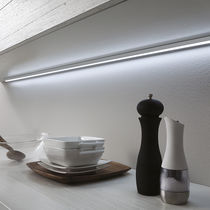 Surface-mounted light fixture / LED / linear / kitchen