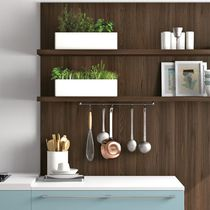 Wall-mounted shelf / contemporary / oak / for kitchens