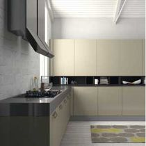 Wall-mounted shelf / contemporary / wooden / for kitchens