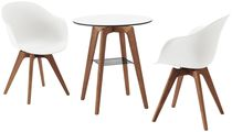 Bistrot table / contemporary / wooden / laminate