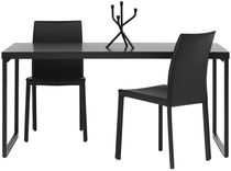 Dining table / contemporary / MDF / steel