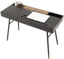 MDF desk / contemporary / with storage