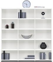 Contemporary bookcase / MDF / custom