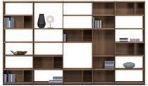 Contemporary bookcase / MDF / custom