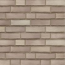 Solid brick / for facades / gray / clinker