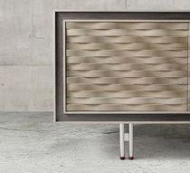 Contemporary sideboard / wooden / brown / beige
