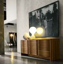 Contemporary sideboard / wooden / brown