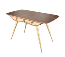 Contemporary work table / oak / beech / ash