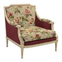 Louis XVI style armchair / fabric