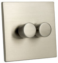Light dimmer switch / rotating / metal