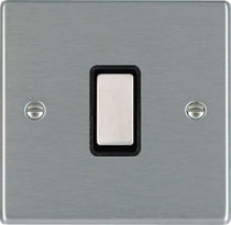 Push-button switch / metal / traditional