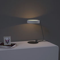 Table lamp / contemporary / iron / concrete