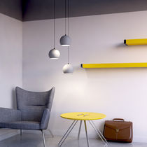Pendant lamp / contemporary / concrete / handmade