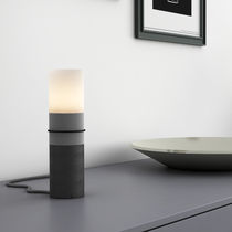 Table lamp / contemporary / concrete / LED