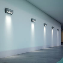 Contemporary wall light / outdoor / concrete / LED
