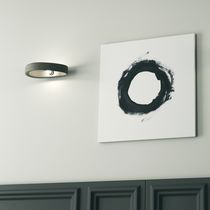 Contemporary wall light / metal / concrete / LED