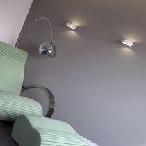 Contemporary wall light / metal / concrete / LED