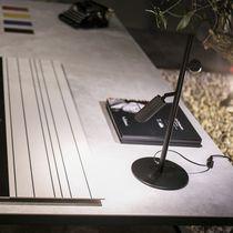 Table lamp / contemporary / metal / concrete