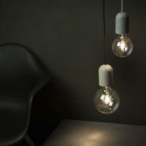 Pendant lamp / contemporary / concrete
