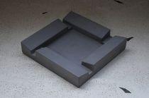 Concrete ashtray / outdoor / for public spaces